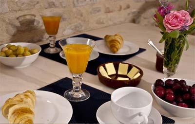 Breakfast chambre d'hote Gaillac, Albi, Cordes